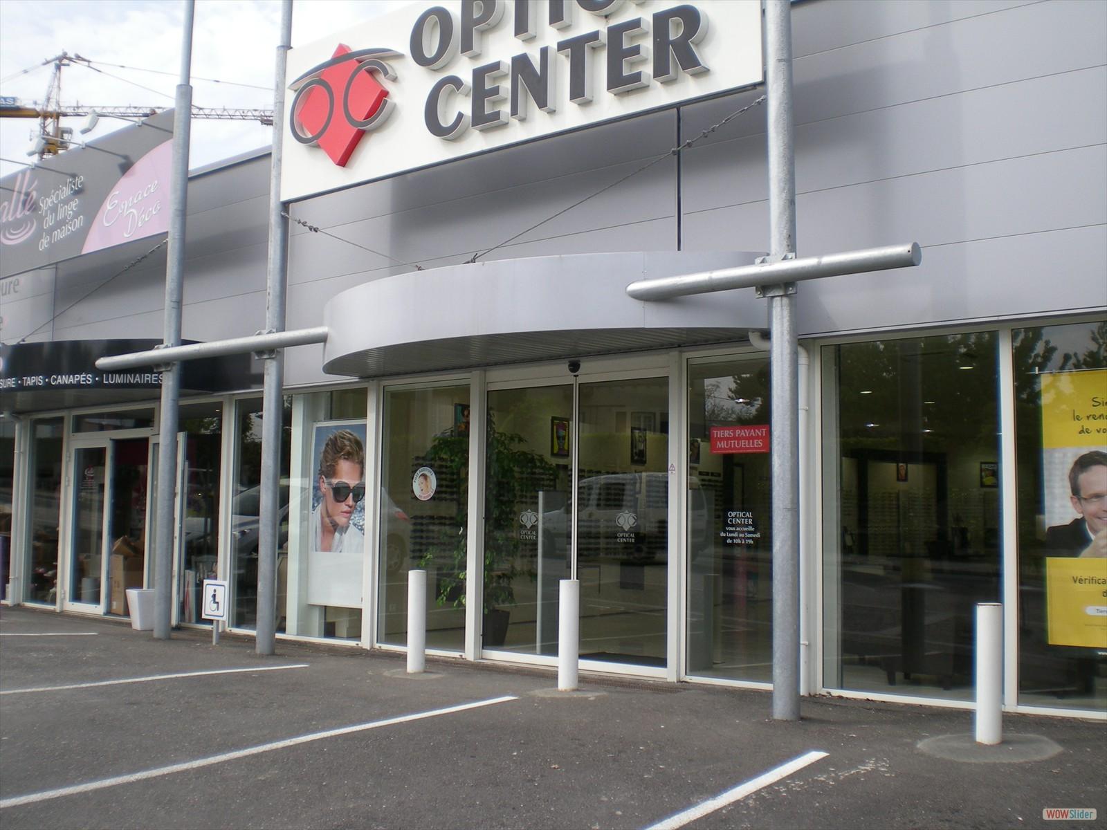 Façade ALU optical center